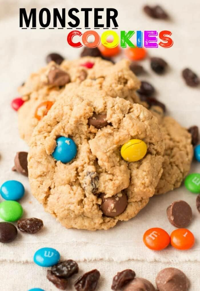 We've had this recipe for years, so you know it's good! These Monster Cookies are a family favorite and can be whipped up in minutes.