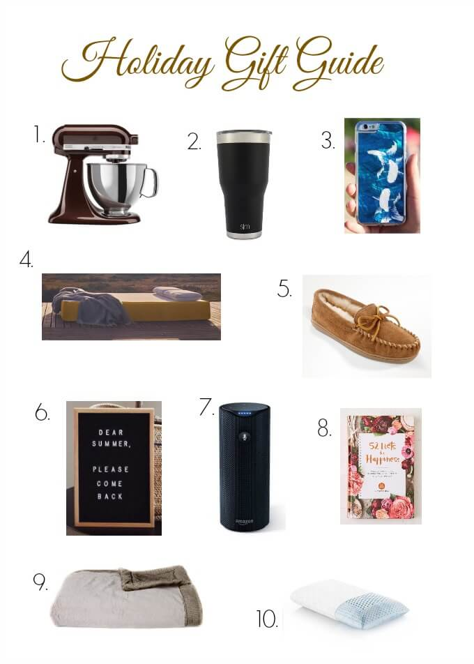 It's that time of year again! Can you believe another gift giving season is here? We've been working hard to give you a Holiday Gift Guide you'll love.