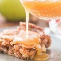 Today we go back in time and share everyone's favorite Apple Cake with Caramel Sauce. You see, it's the classics that really make you feel happy. ohsweetbasil.com
