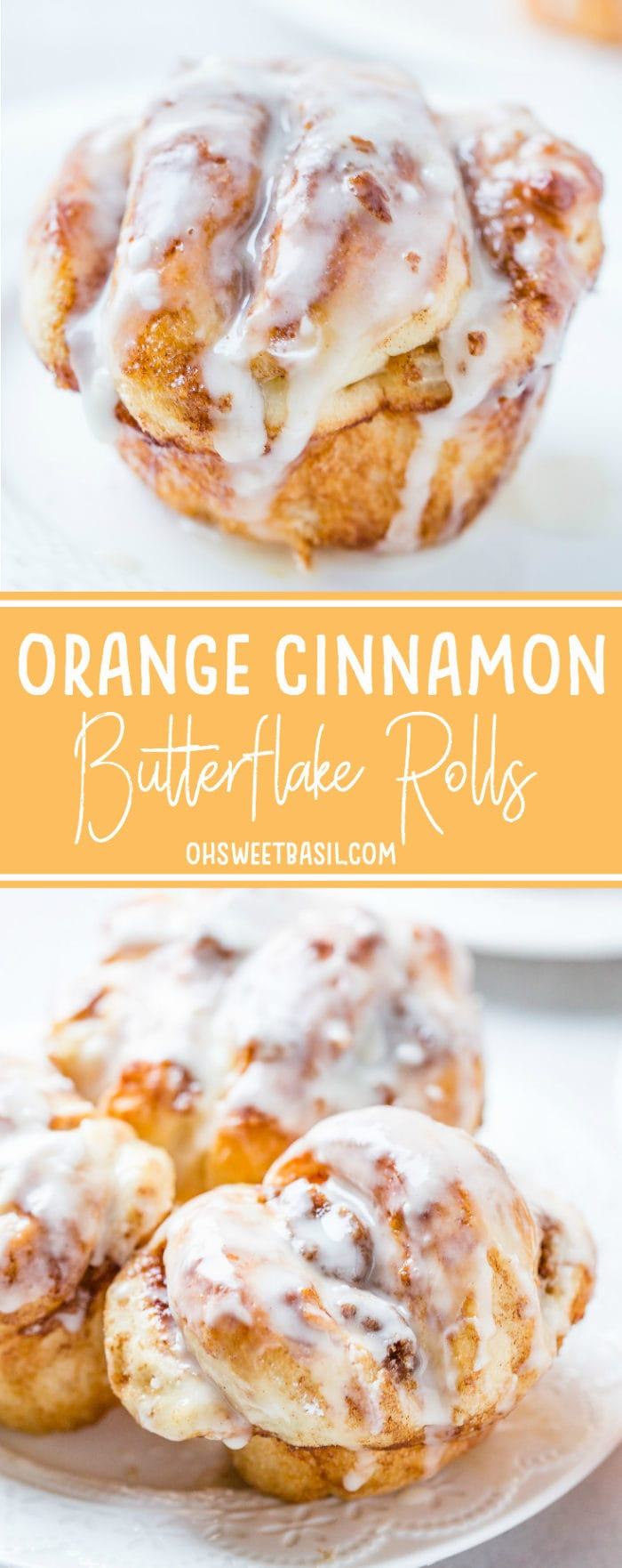 Oh. Sweet. Mercy. These Orange Cinnamon Butterflake Rolls made with Rhodes Rolls are my new favorite thing. That cinnamon butter filling is heaven!