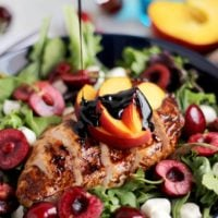 balsamic glazed grilled chicken