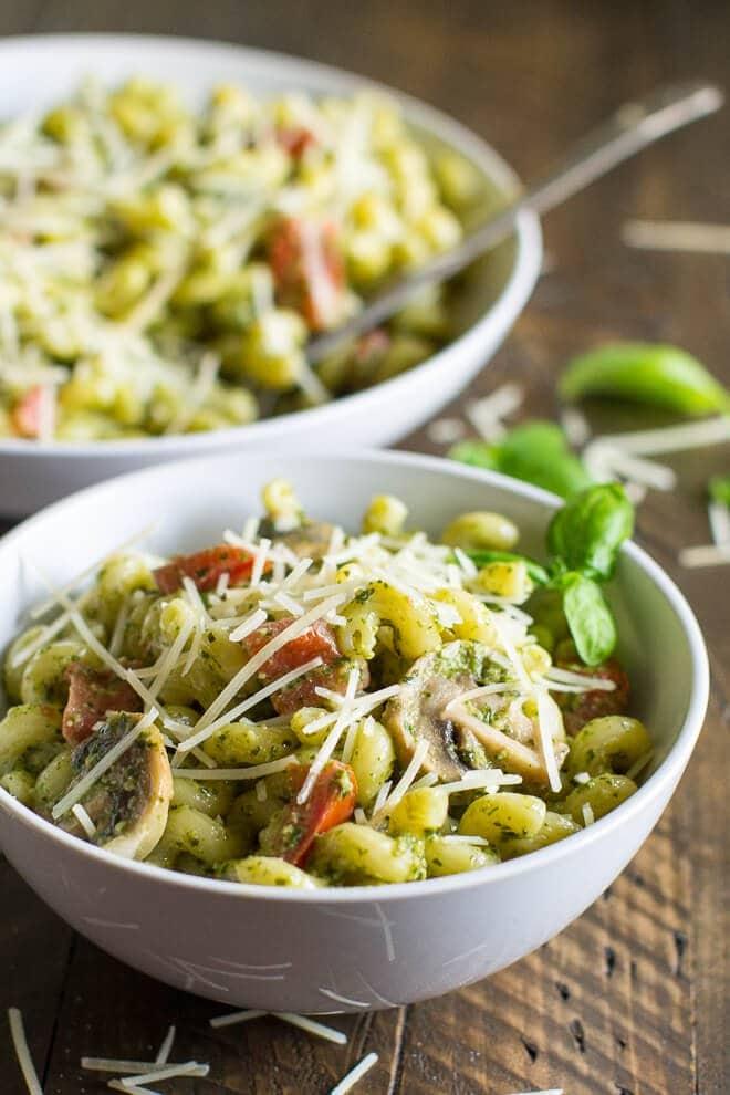 Pesto Cavatappi (Noodles & Company Copycat) Culinary Hill