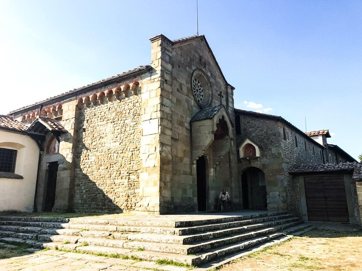San Francesco Monastery in Fiesole Italy ohsweetbasil.com