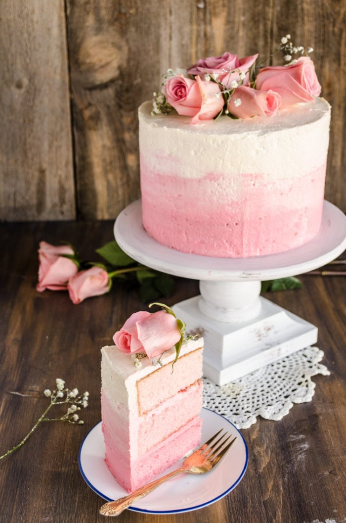 Strawberry pink ombre cake oh sweet basil hello fabulous oh sweet basil readers this is emily coming to you from the goldilocks kitchen again mothers day is coming up fast and its kind of a mightylinksfo