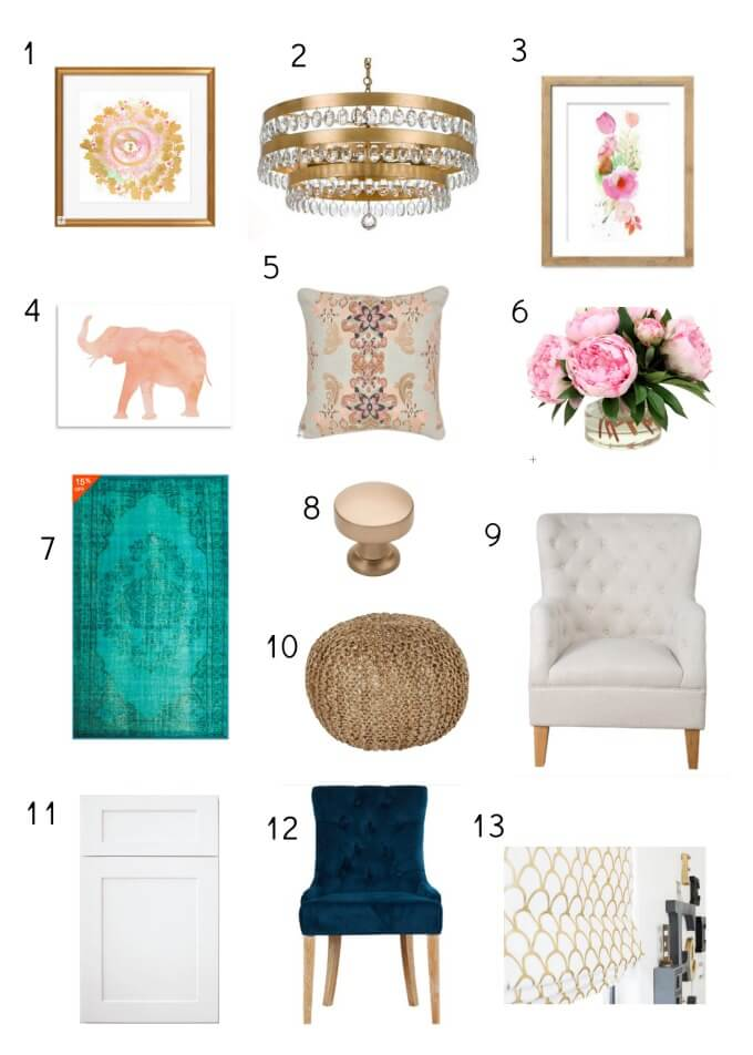 We are so stinking excited to show you our office reveal!! It's been hard work but the results are beautiful and exactly what we wanted. Top Office Trends ohsweetbasil.com
