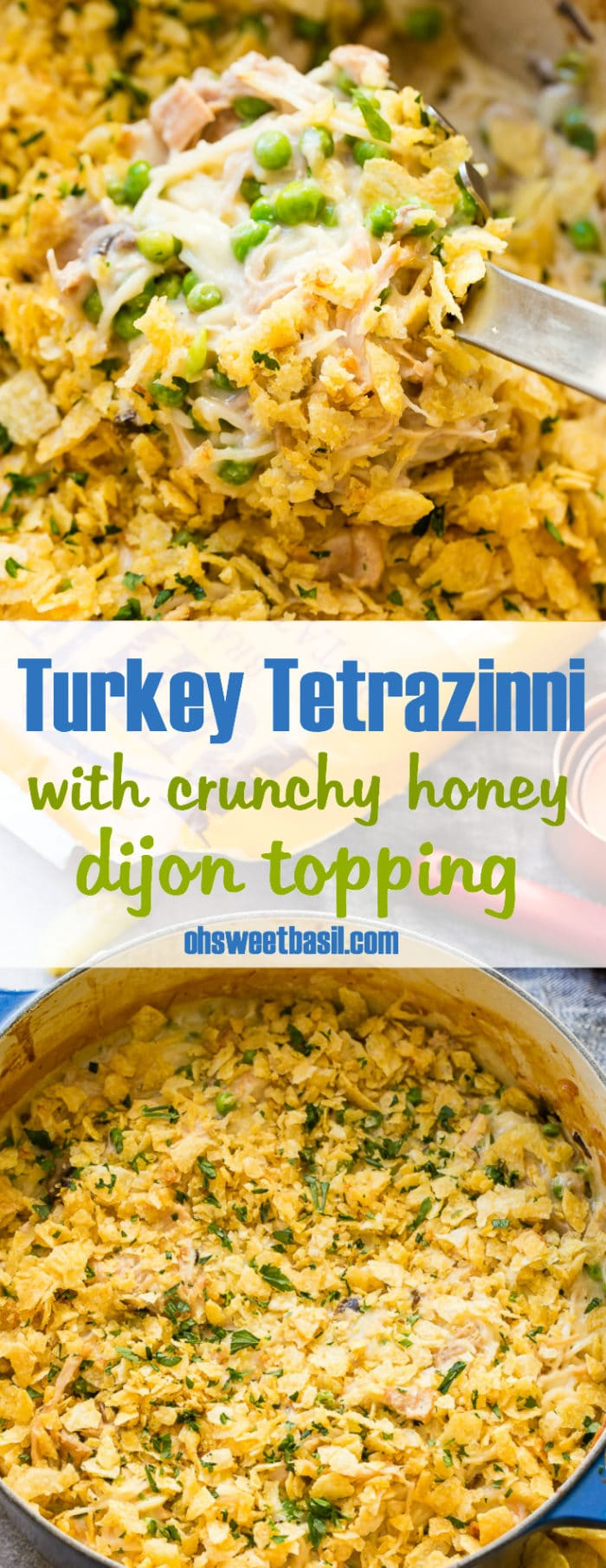 Turkey Tetrazzini in a large pot