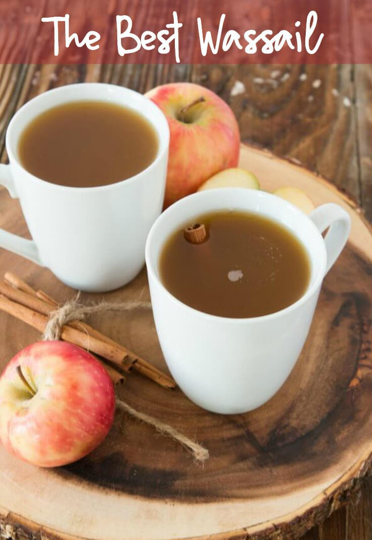 Homemade Wassail! This drink is great for the winter time and soothing for the throat.
