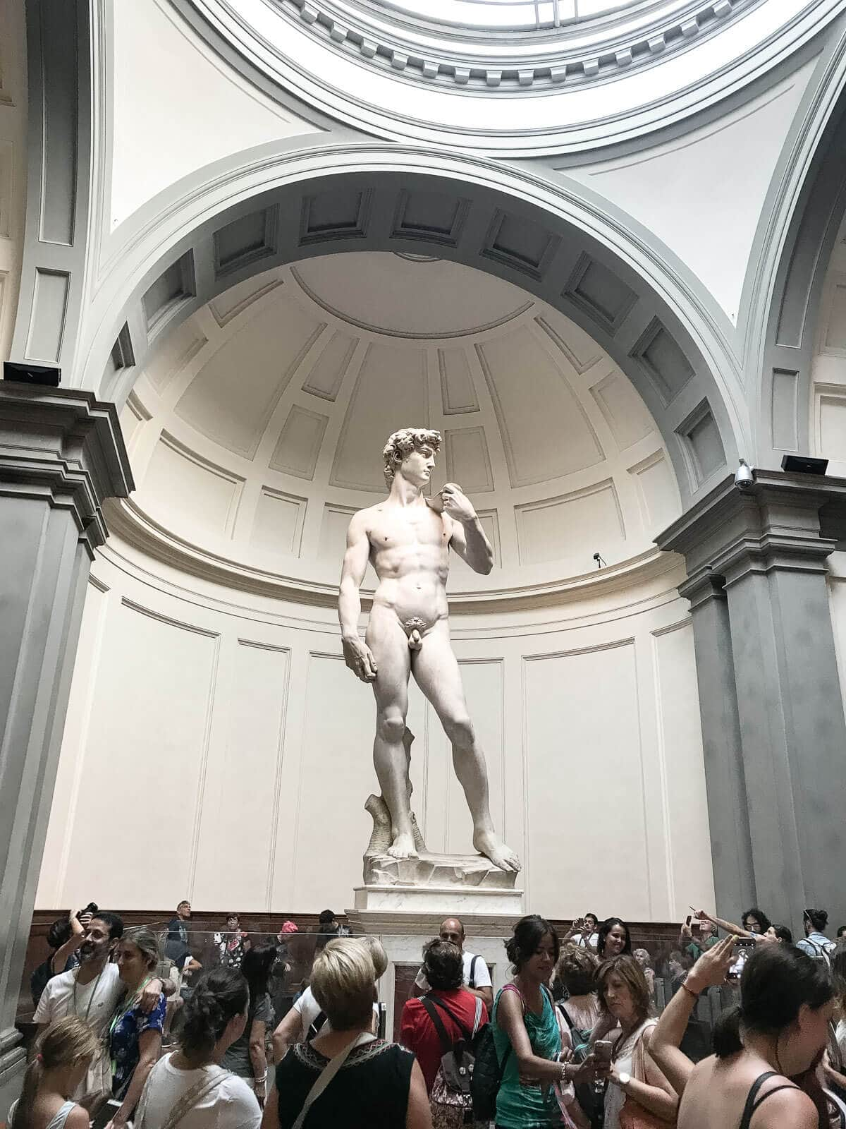 Accademia Museum Michelangelo's David