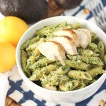 Avocado Pesto Chicken Pasta