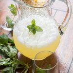 Basil Mint Lemonade