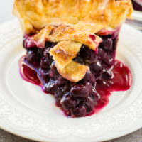 Simple Blueberry Pie