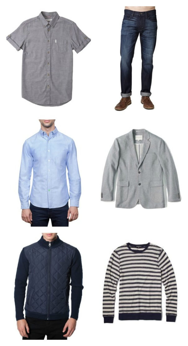 Bombfell is the best online stylist for men. They ship you options and you send back what you don't want. Plus you can preview and change it all! ohsweetbasil.com