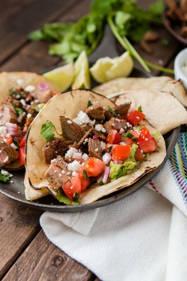 Authentic Carne Asada Tacos Oh Sweet Basil