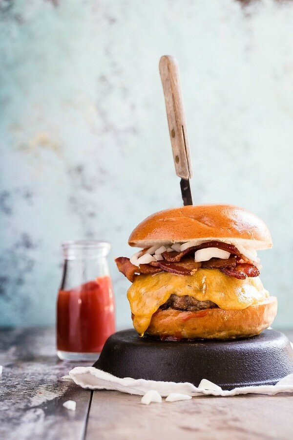 cheddar cheeseburger ohsweetbasil.com