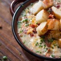American's love a juicy, cheesy hamburger but what if you could turn it into an easy soup perfect all year round? The Ultimate Cheeseburger Soup is here! ohsweetbasil.com