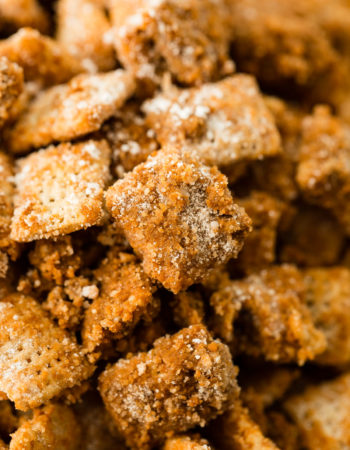 Looking for a fun and easy sweet chex mix? We love this easy churro chex mix for parties and entertaining or just a night at home with Netflix!