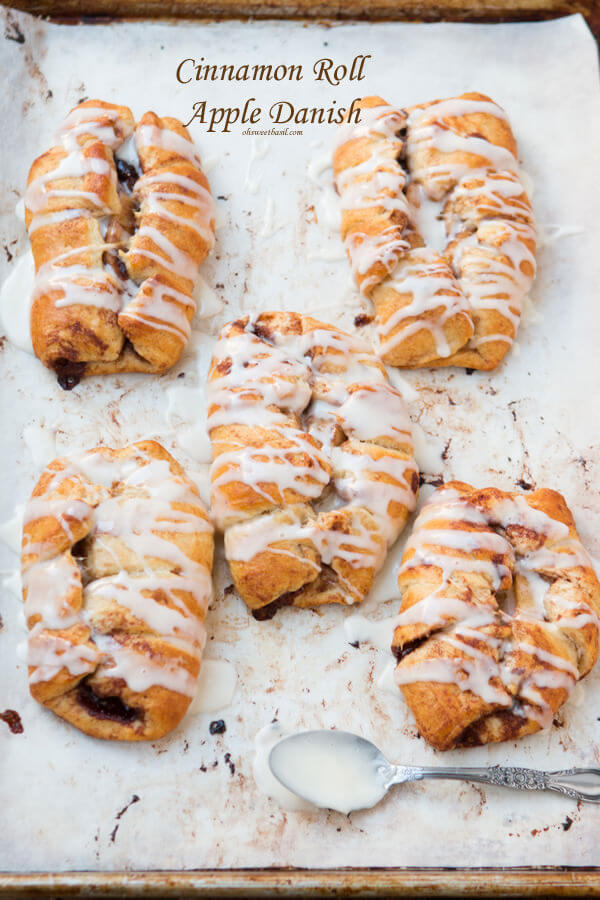 Cinnamon Roll Apple Danish