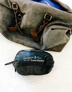 Best travel blanket for flights? Cocoon Coolmax! ohsweetbasil.com