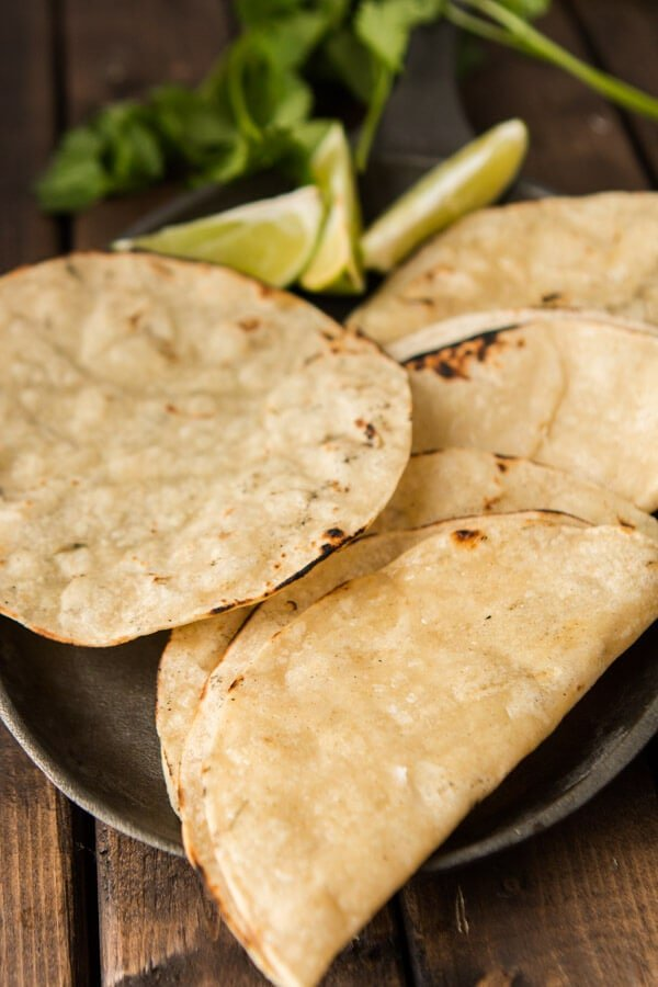 There's nothing like a really, really good stack of freshly charred tortillas