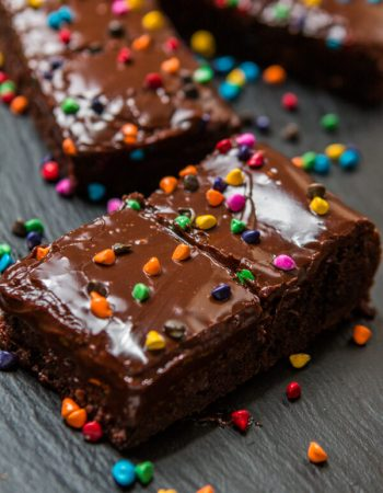 It's a blast from the past with these 90's inspired Cosmic Brownies Copycat Recipe. They are perfectly fudgey and taste just like your childhood! ohsweetbasil.com