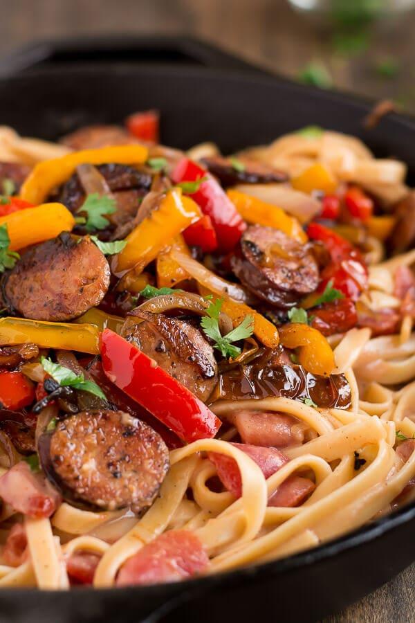 Louisiana sausage pasta recipes