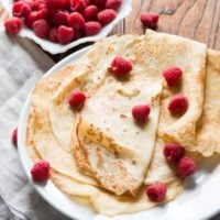 Perfect Crepes recipe ohsweetbasil.com
