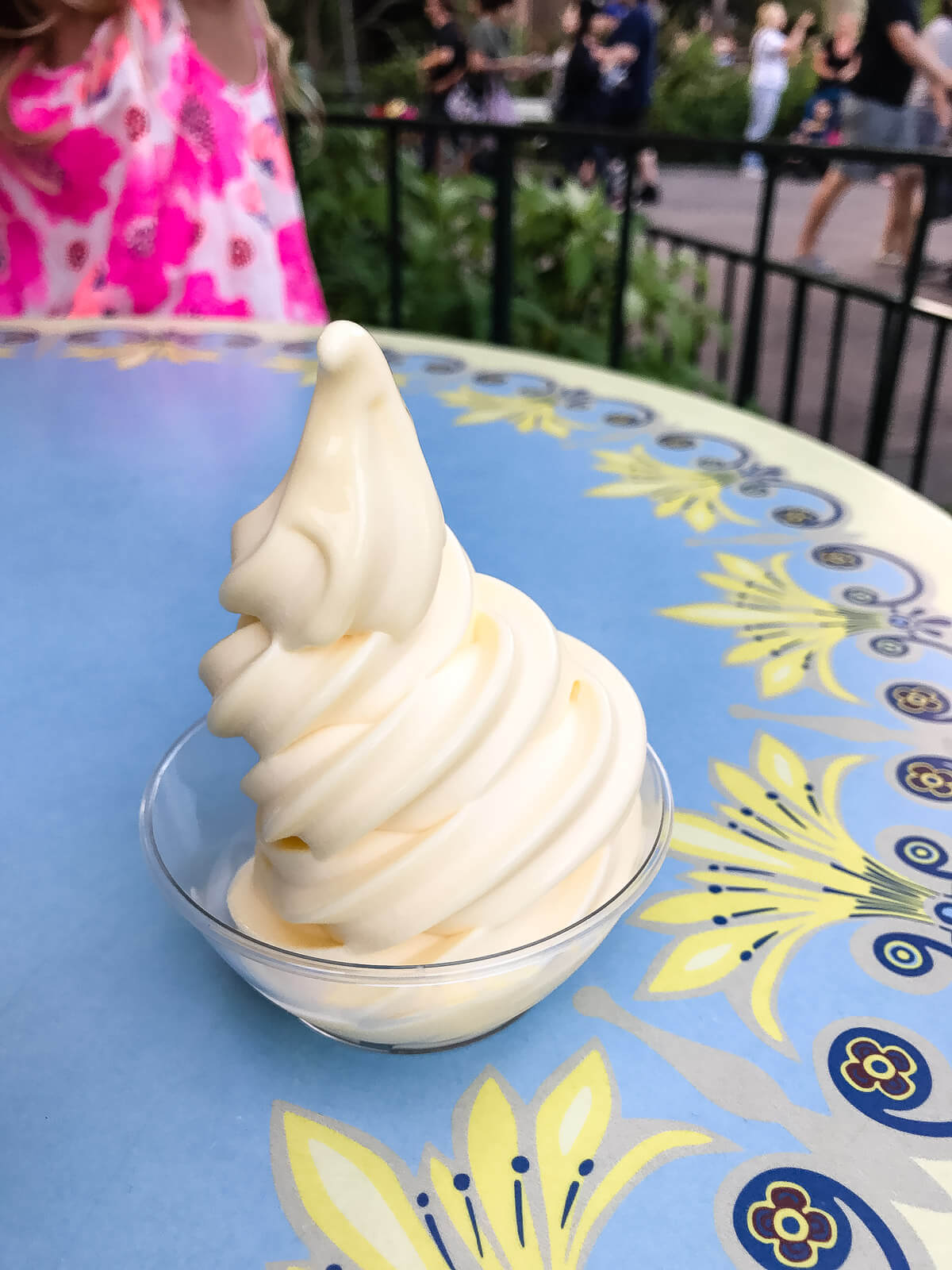 Dole whip is a must when visiting Disneyland. You can buy a dole whip from the Tiki Juice bar at Adventureland. ohsweetbasil.com