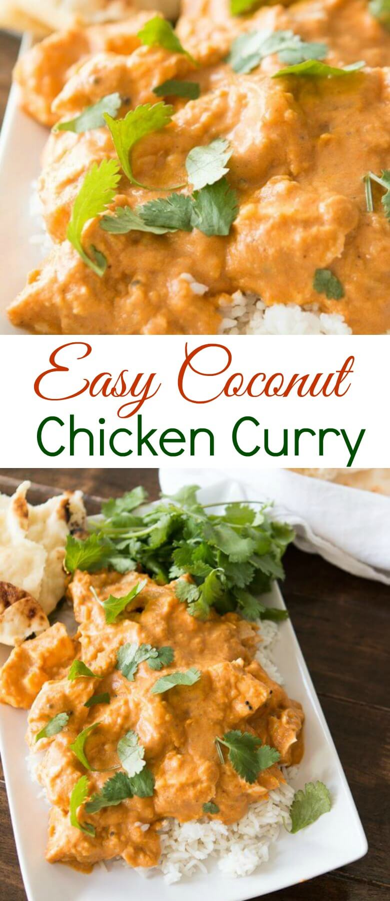 Whether you are an adventurous foodie or a ground beef and rice casserole meat and potatoes type this easy coconut chicken curry is totally for you.