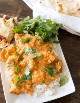 Easy Coconut Curry Chicken ohsweetbasil.com