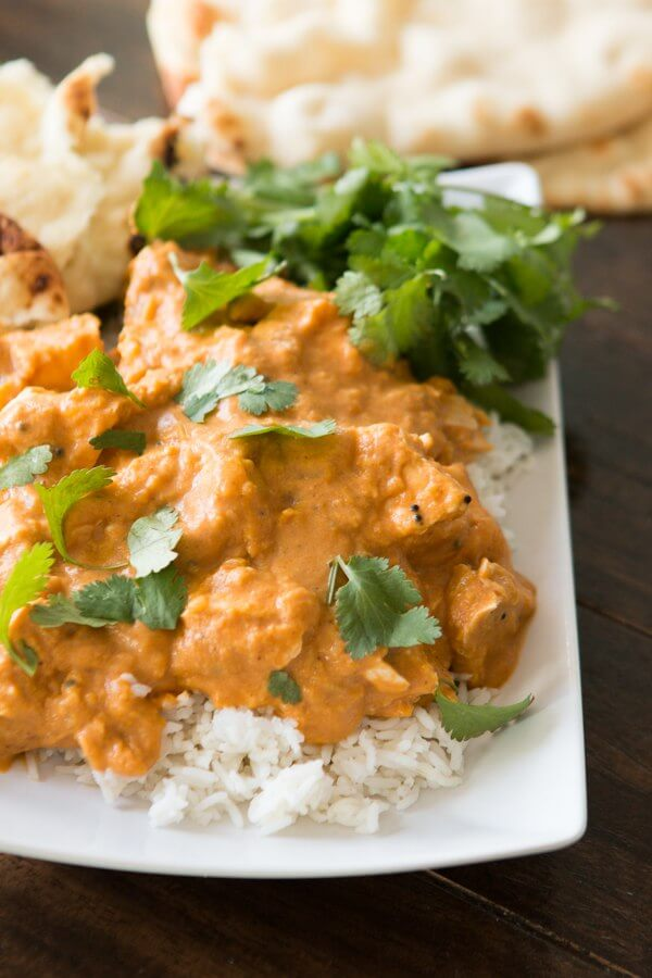 Easy coconut chicken curry ohsweetbasil.com