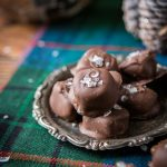 Salted Milk Chocolate Homemade Caramels