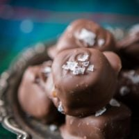 These amazing caramels are sold in Costco and this year we are busting out a copycat salted milk chocolate homemade caramels recipe that is to die for. ohsweetbasil.com