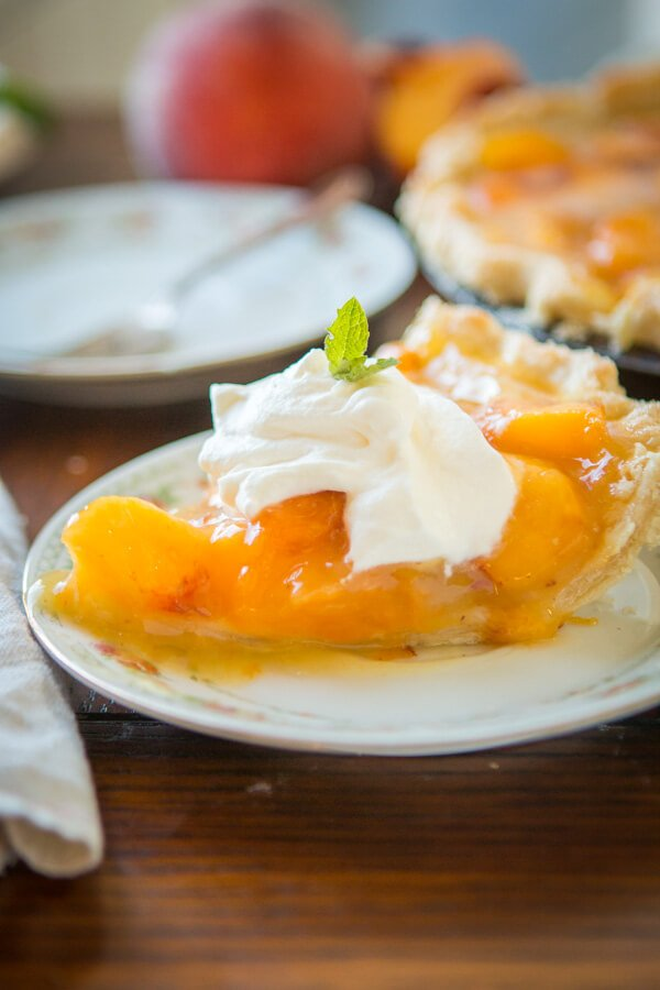 Wait, what?! Did she say lemon jello peach pie? I did and it is such a perfect way to enjoy all of those juicy globes of sweet nectar that are in season. ohsweetbasil.com