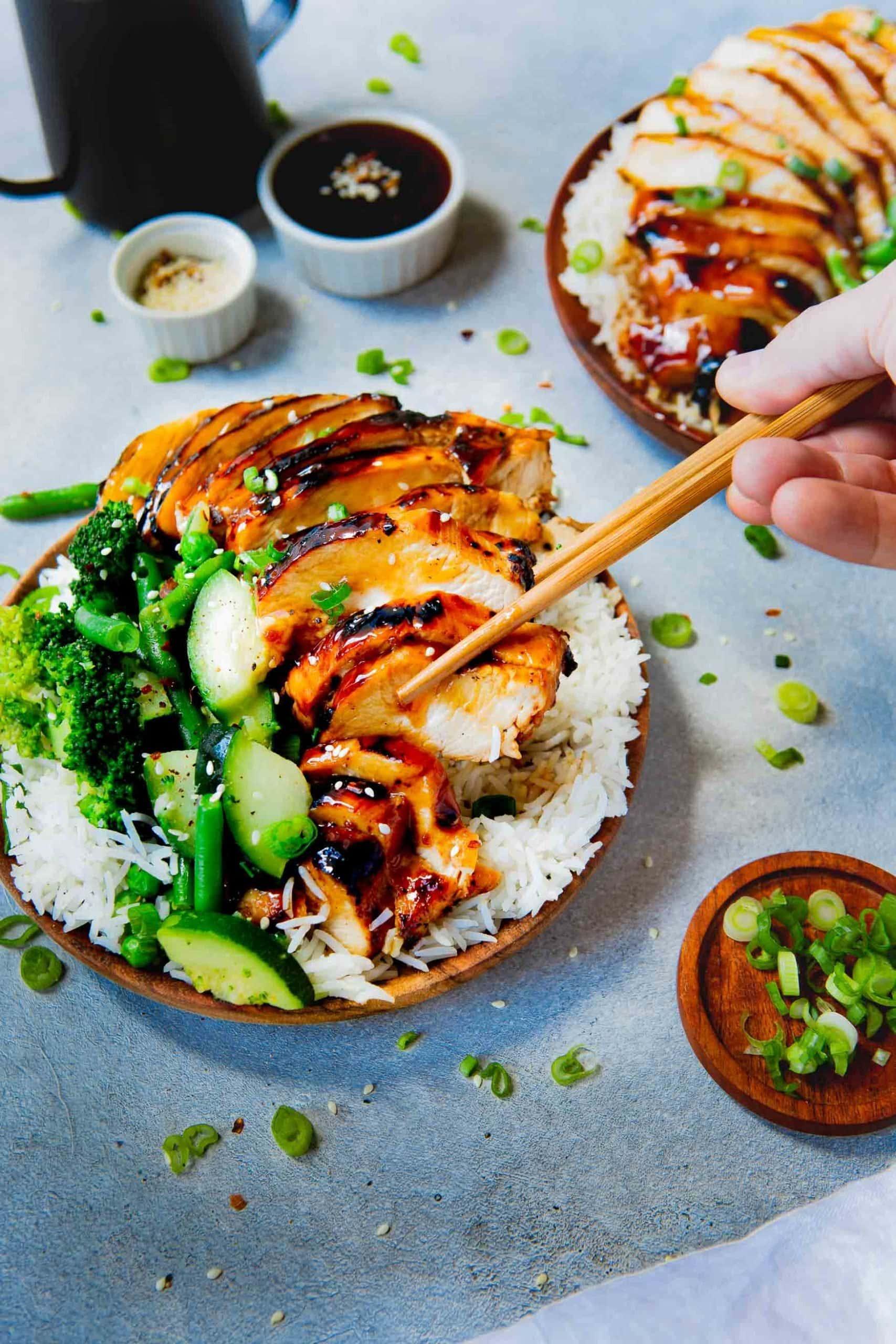 Homemade Teriyaki Chicken Recipe