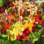 Easy Teriyaki Chicken Salad
