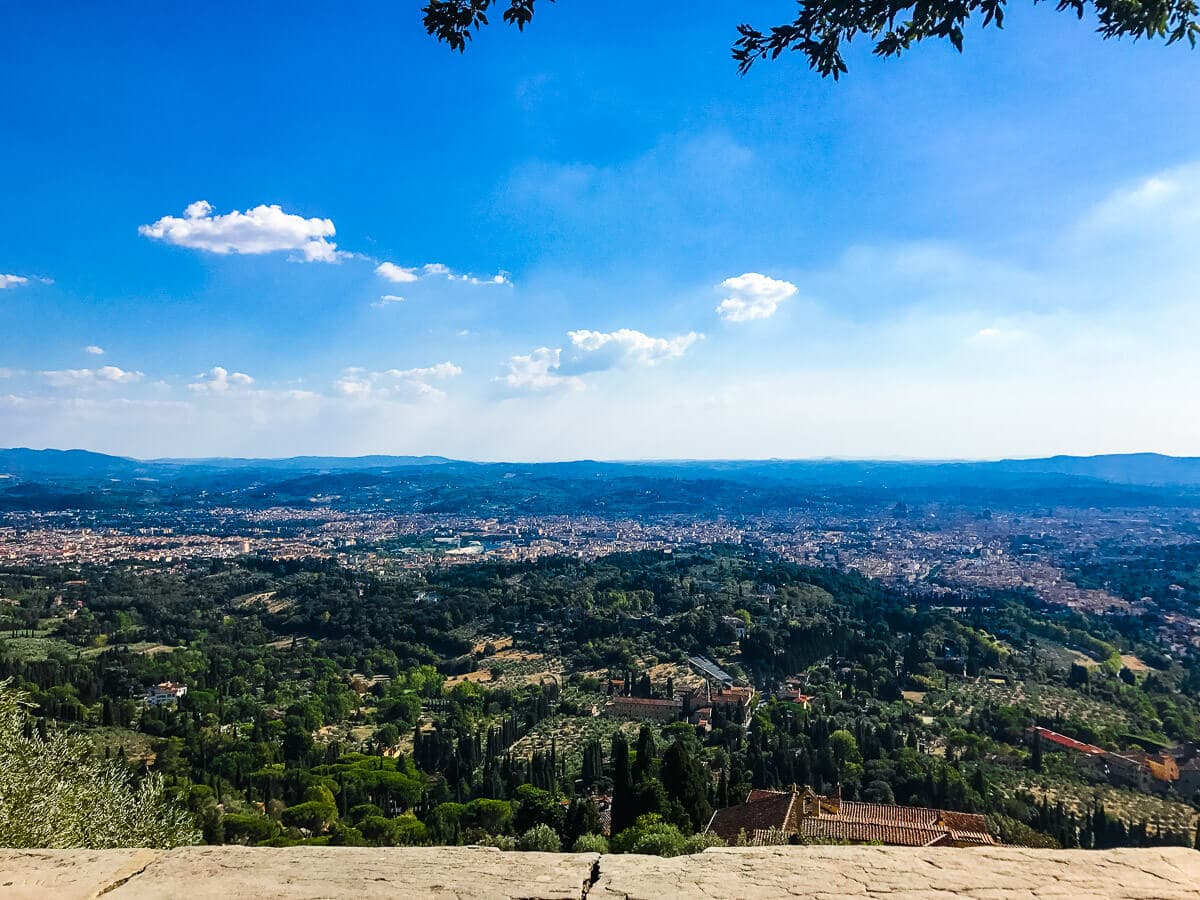 Fiesole, our favorite place to view Florence, Italy. ohsweetbasil.com