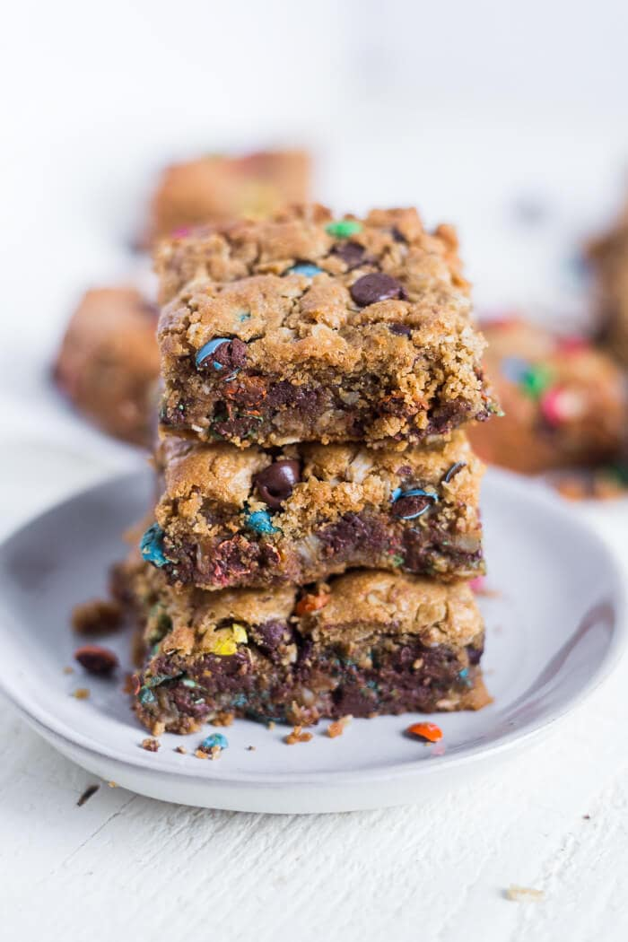 monster cookie bar recipe