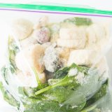 You can do freezer prep green smoothie protein shakes and cut out the hassle every day of trying to prepare a healthy meal to lose weight and stay in shape. ohsweetbasil.com