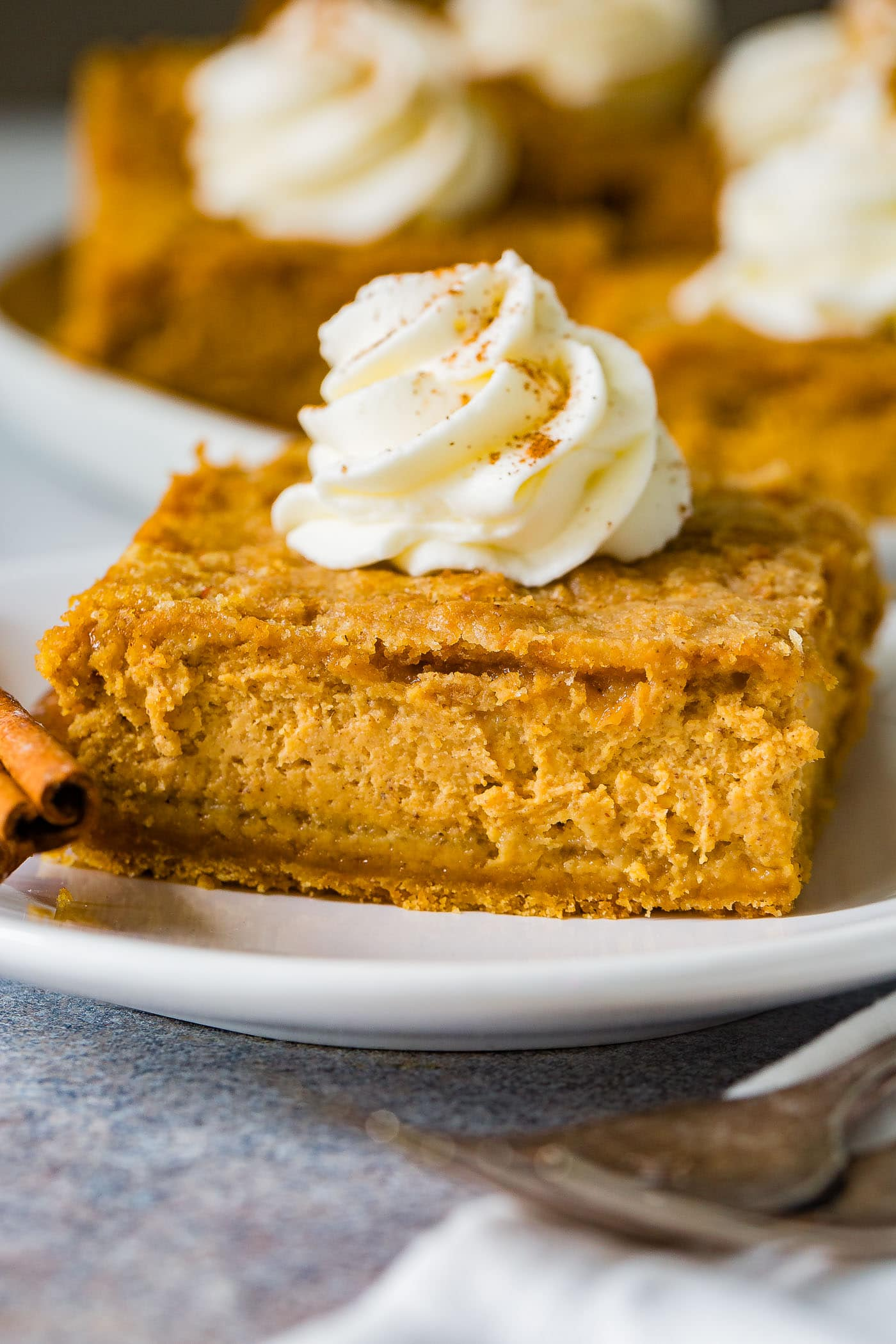 Gingersnap Pumpkin Cheesecake Bars Oh Sweet Basil