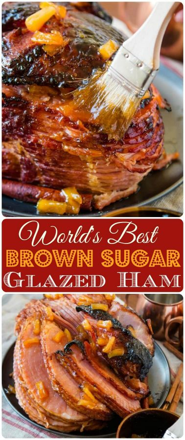 We've tried many a ham recipe, but this is probably the World's Best Brown Sugar Ham. The best part is, you can make it in the oven or slow cooker. crock-pot, insta-pot, pressure cooker