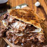 Grilled S'mores Dessert Quesadillas