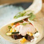 Steak Burrito with Grilled Zucchini