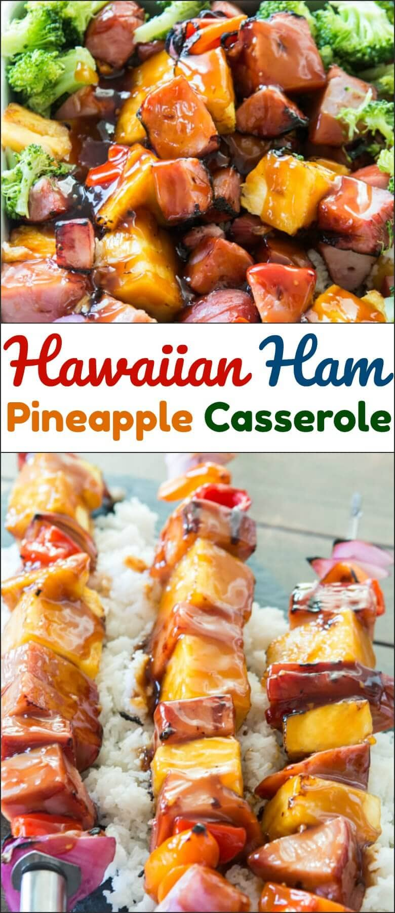 Summer comes and goes faster than any other season and suddenly you're back to school shopping. Not this year with Hawaiian Ham and Pineapple Casserole.