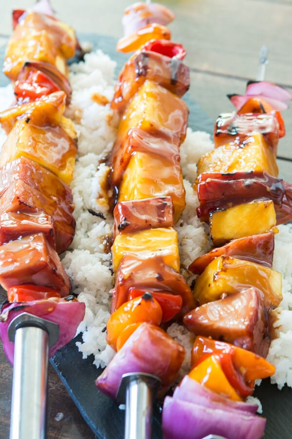 Summer comes and goes faster than any other season and suddenly you're back to school shopping. Not this year with Hawaiian Ham and Pineapple Casserole. ohsweetbasil.com