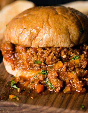 A quick and easy healther sloppy joe recipe with turkey