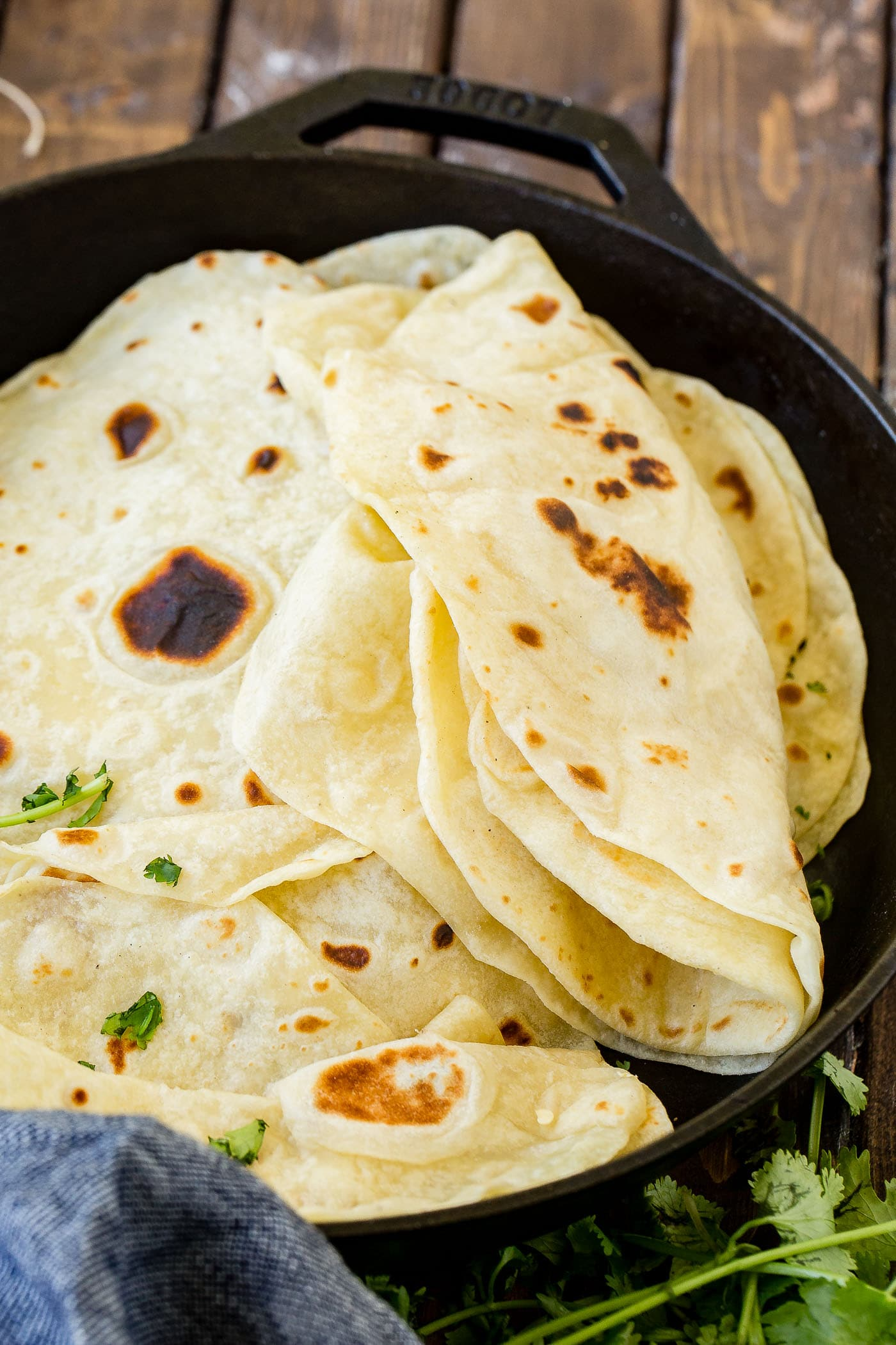 Authentic Homemade Flour Tortillas Oh Sweet Basil