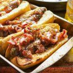 Honey Mustard Bacon Brats
