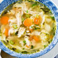 Better than Grandma's Instant Pot Chicken Noodle Soup