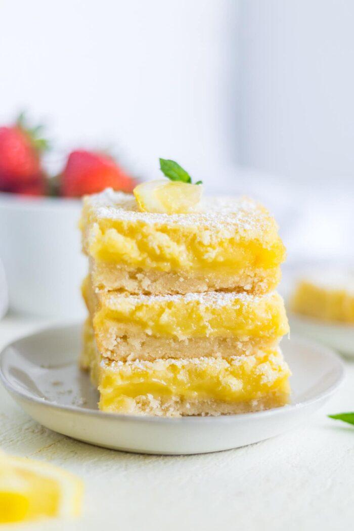 classic lemon bars recipe oh sweet basil