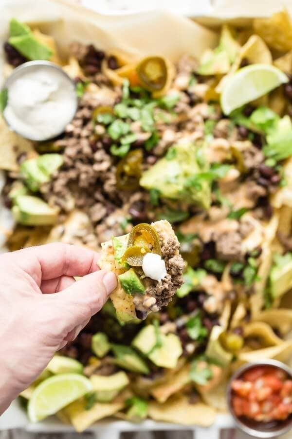 loaded-nachos-09-600x900 It's that time of year again. In case your family is like ours and you want an extra special day we have a Father's Day Recipes Roundup to help!